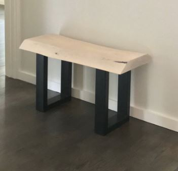Small Handmade Oak Bench | touchGOODS