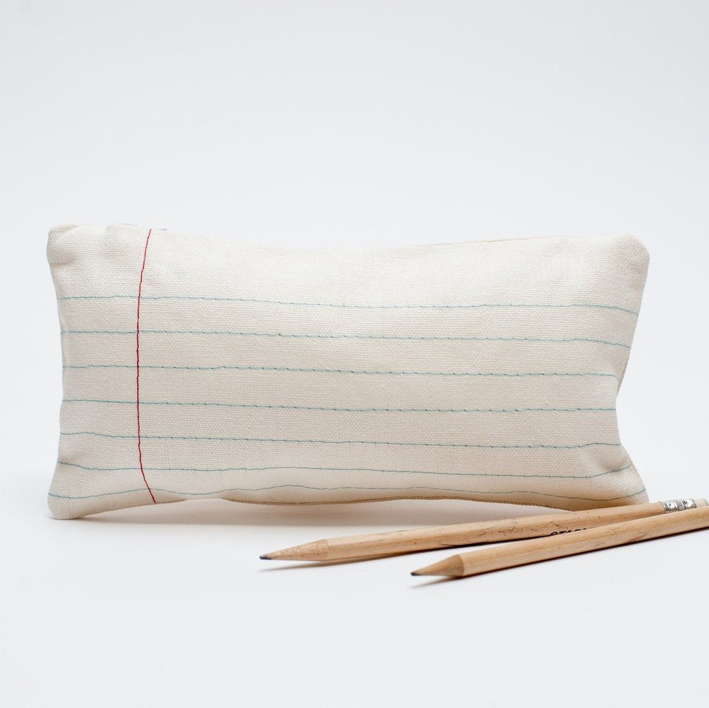 lined paper pencil case by pi'lo studio | touchGOODS