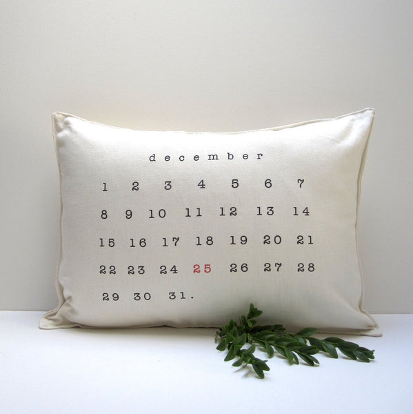 December Pillow - touchGOODS