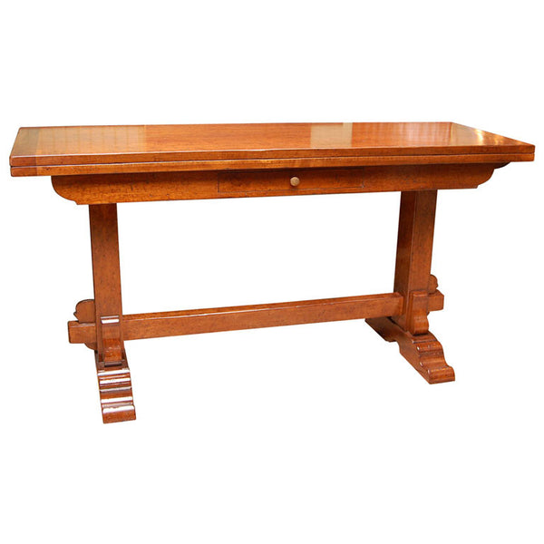 Walnut Folding Console Table - touchGOODS