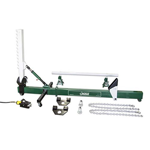 Jackco 10 Ton Auto Body Frame Straightener - Swivel Type with Air Hydraulic Pump