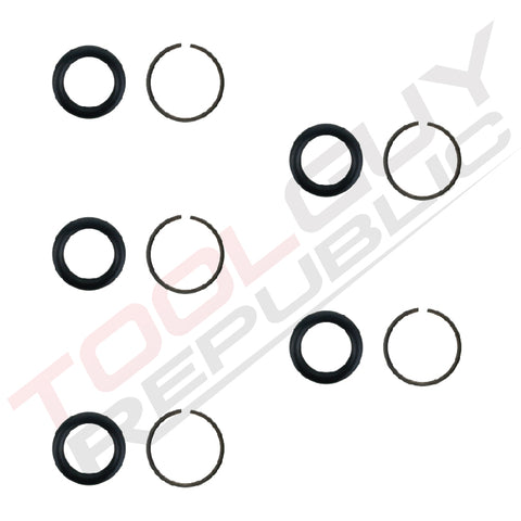 "3/4"" Impact Wrench Socket Retainer Retaining Ring with O-Ring Mac IR - 5 Sets"