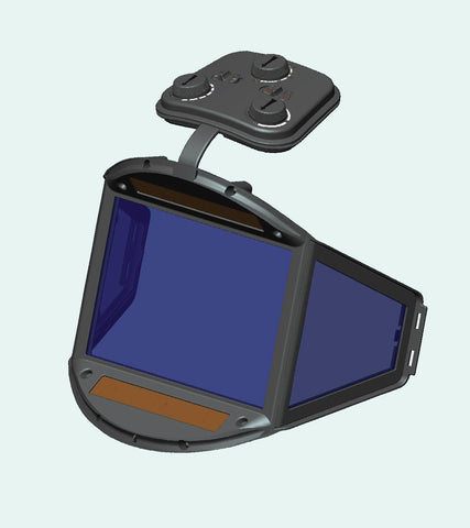 Replacement 180 Panoramic View Welding Helmet Lens Assembly