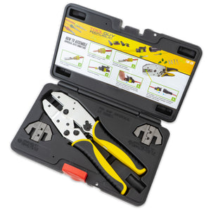 1.5 Superseal Connector Terminal Ratcheting Crimping Tool- Includes 2 Dies
