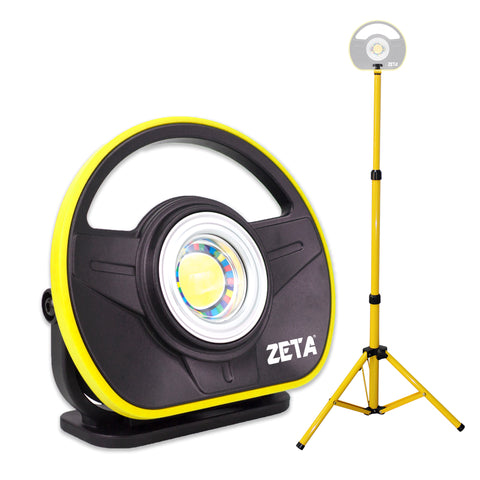 ZETA 900 Lumen Rechargeable Paint/Detailing Color Matching Light CRI 95 with Tripod Stand