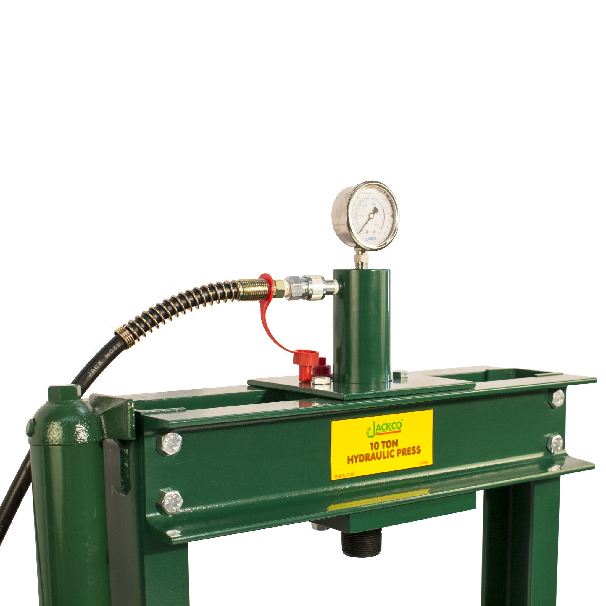 10 Ton Hydraulic H Frame Bench Top Floor Press with Pressure Gauge ...