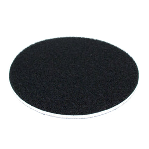 "5"" Medium Density Interface Pad (thin)- Vinyl PSA to Hook and Loop Conversion"