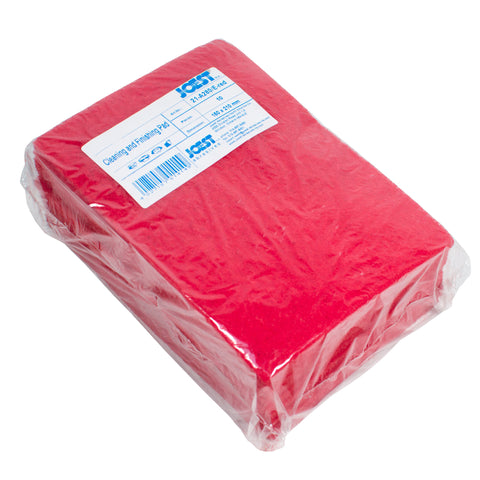 "10 pk Joest Red Scuff Pads 6"" x 8"""