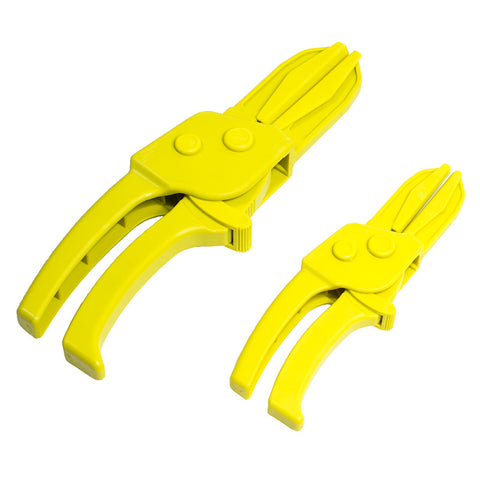 2pc Line Clamp Plier Set - Clamp Brake, Fuel, and Vacuum Lines and Any Other Soft Hose