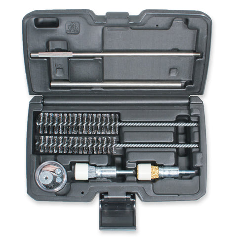 22pc Universal Injector Seat Cleaning Kit for Diesel Engines