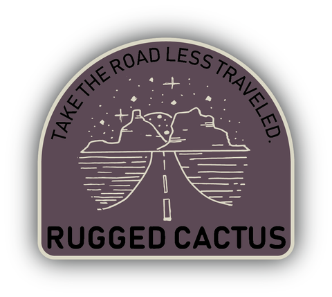 Road Less Traveled Sticker
