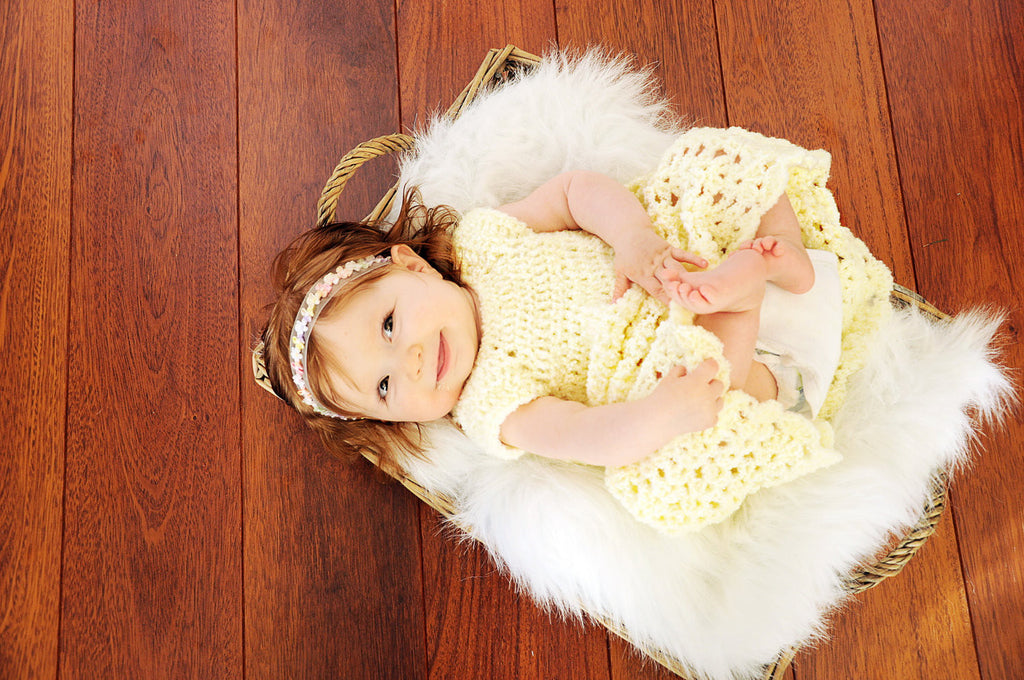 Crochet Dress, Baby Dress, Crocheted Newborn Dress, Baby Girl, Baby Shower Gift, Photo Prop, Blessing dress, Newborn, Baby, Infant, Toddler