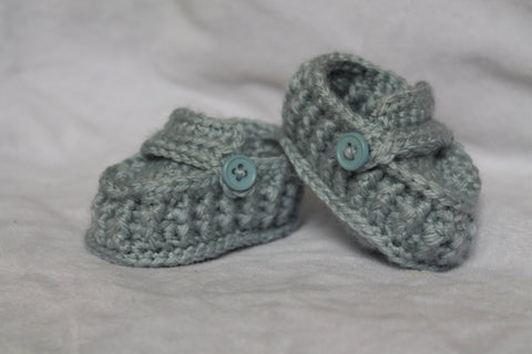 Crochet Baby Loafers - Crochet Baby Booties - Baby Boy Shoes - Newborn Shoes - Crochet Loafers - Baby Slippers - Boy Baby shower Gift