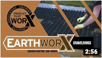 Video on how to install EarthWorx grid panel system
