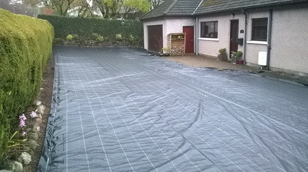 Excellent Choice for Driveway's - GroundTex Heavy Duty Weed Membrane 100gsm - pic1