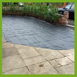 3.3m x 50m Ground Cover Membrane / Heavy Duty Weed Fabric 100g