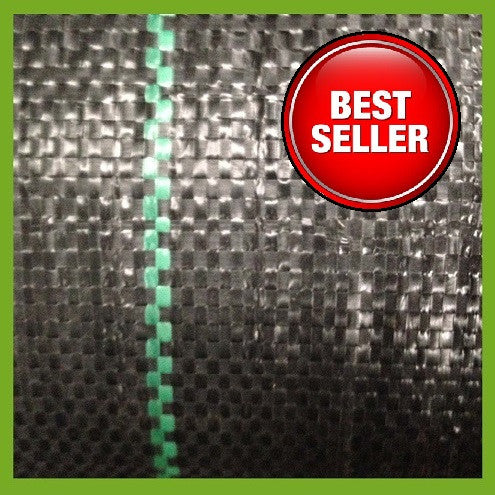 2m X 25m Ground Cover Membrane Heavy Weed Fabric Ground Cover