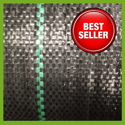 4.5m x 11m Ground Cover Membrane / Heavy Duty Weed Fabric 100g