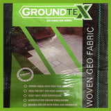 1m x 15m Ground Cover Membrane / Heavy Duty Weed Fabric 100g
