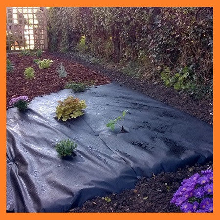 2m x 100m superior weed control fabric landscape fabric 70g ground cover solutions. Black Bedroom Furniture Sets. Home Design Ideas