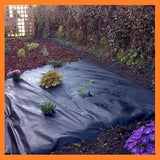 1m x 15m Superior Weed Control Fabric / Landscape Fabric 70g