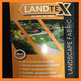 1m x 50m Superior Weed Control Fabric / Landscape Fabric 70g