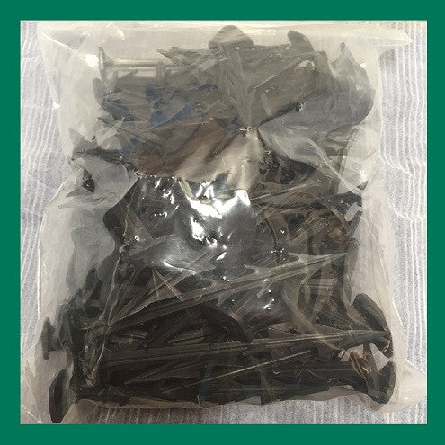 100 X Plastic Fixing Pegs Heavy Weed Control Fabric