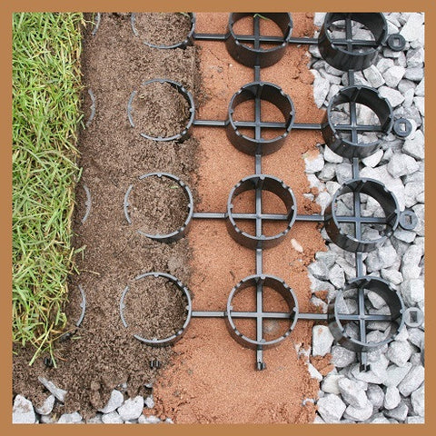 1sqm Pack - Grass Ground Reinforcement Grid Panel Tile System