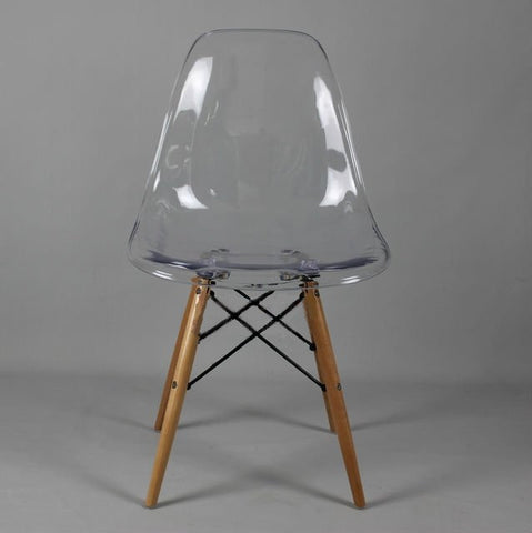 Clear Transparent Dining Chair