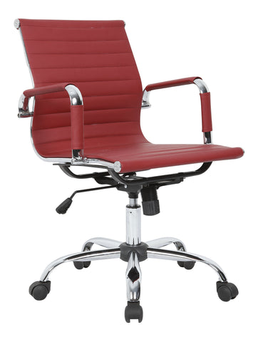 Red Designer Office Chair