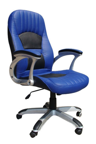Blue Racer Gaming Style Office Chair
