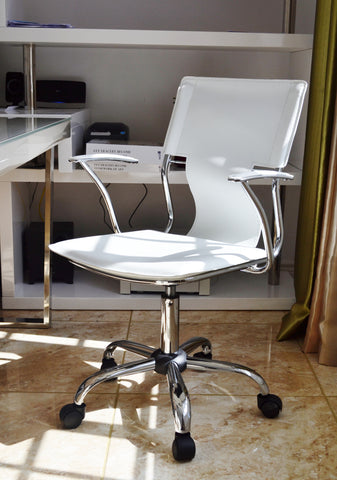 White Designer Office Chair