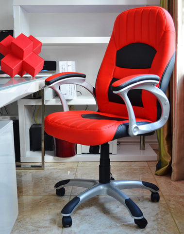 Red Racer Gaming Style Office Chair