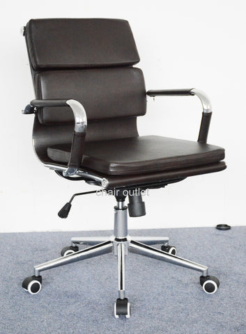 New Black Designer Office Management Chair