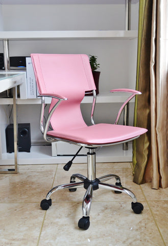 Pink Designer Office Chair