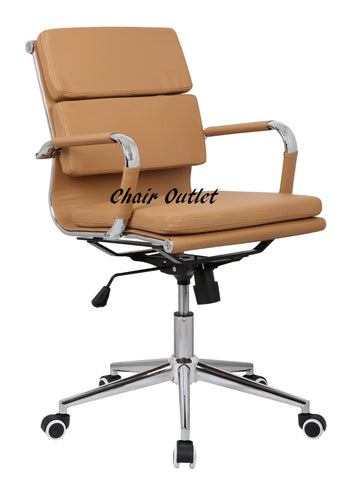 Tan Designer Office Chair