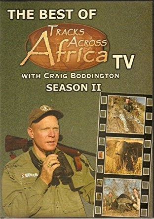 Best Of Tracks Across Africa Season II (DVD) 2 disk set.
