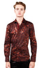 "Barabas Printed Fashion Cotton ""Diamond Shirt Coffee 4309"