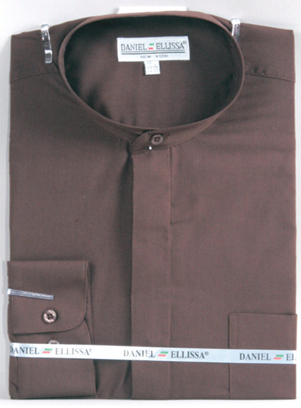Daniel Ellissa basic Banded Collar Dress Shirt DS3001C