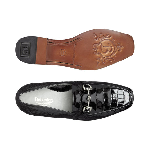 Gerald, Genuine American Alligator Slip-on Loafer, Style: 1024
