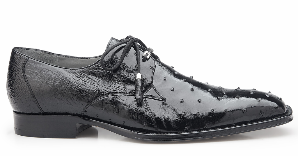 Belvedere Isola Genuine Ostrich Shoes