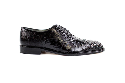 Belvedere Onesto II Genuine Ostrich and Crocodile Shoes 1419