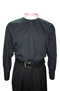 Clergy Roman Bishop Full Collar Shirt