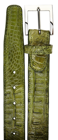 Belvedere Crocodile Genuine Crocodile Belt 1999