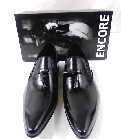 New Encore Black Dress Shoes with Tassels FI 3049