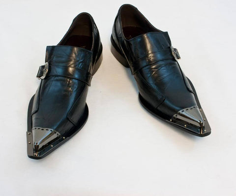 New Fiesso Dress Shoes Black FI 6053