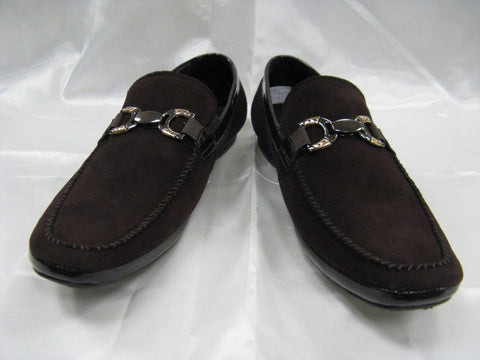 Encore by Fiesso New Coffee Suede Slipon Shoes FI 3002