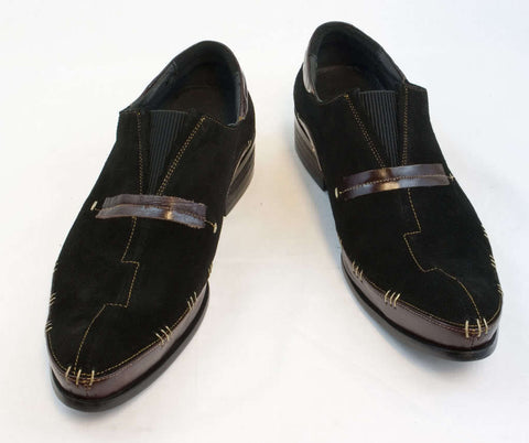 New Encore Dress Shoes by Fiesso Brown/Black FI8619