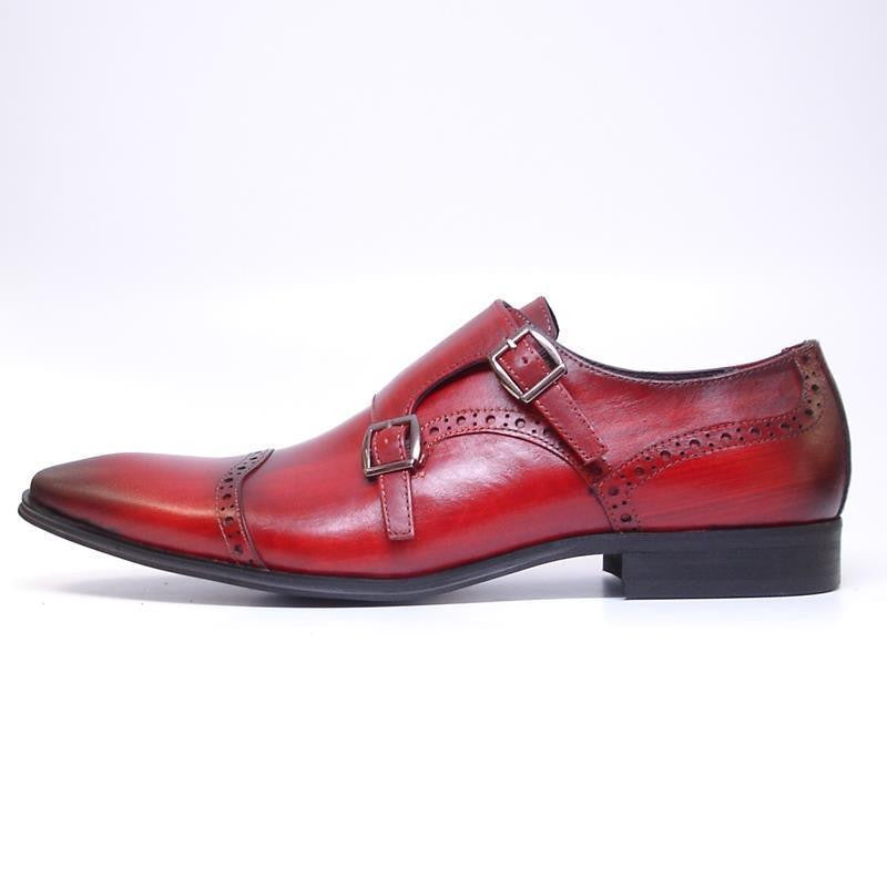 New Encore Burgundy Dress Shoes FI 6922