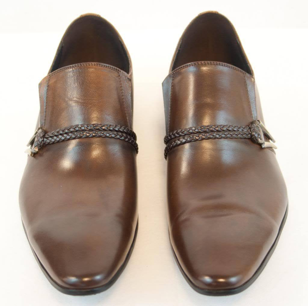 New Encore Dress Shoes by Fiesso Brown FI 6628